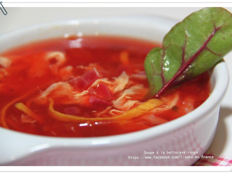 潤膚好氣色甜菜根番茄湯