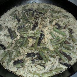 鐵鍋菜豆飯
