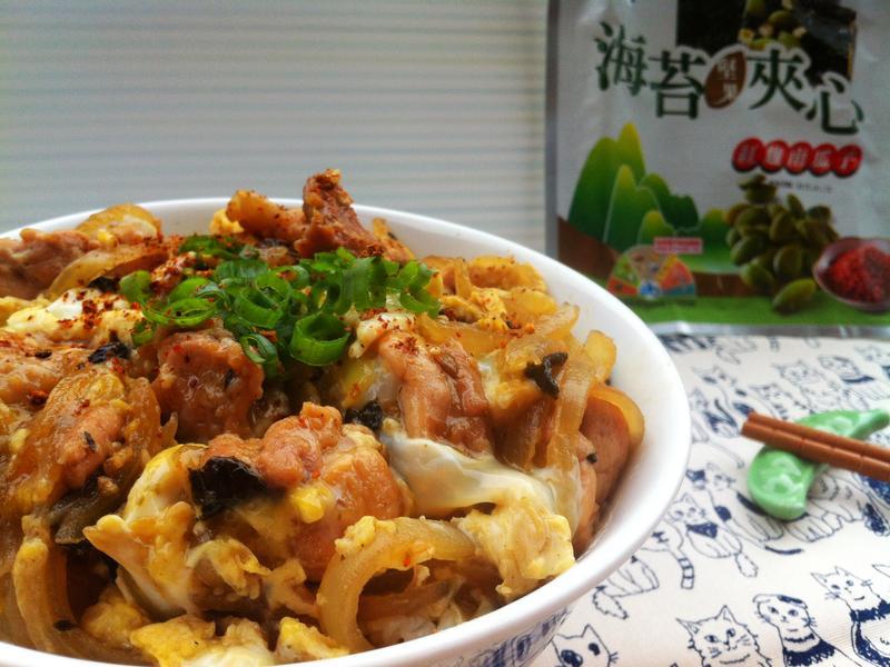 雞肉親子丼「元本山海苔」