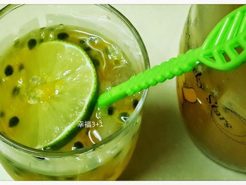 〔飲品〕百香檸檬蜜茶