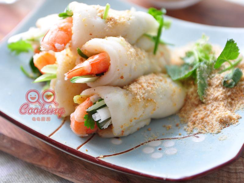 蝦仁鮮蔬麻糬捲【安永鮮物】