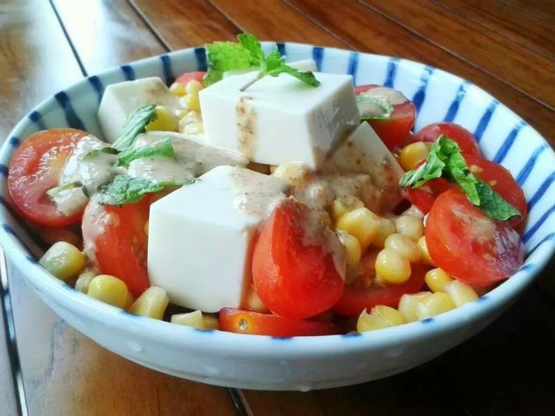 日式凍豆腐沙拉 【健康推介】