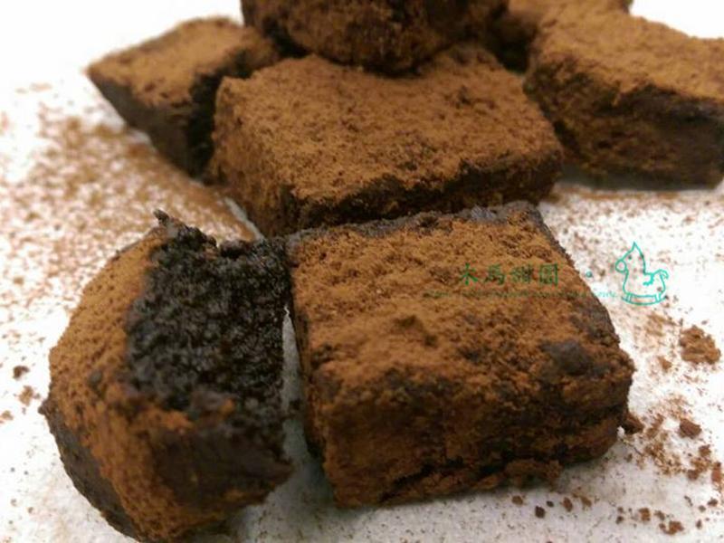 強打 ♥♥♥ 松露巧克力布朗尼蛋糕