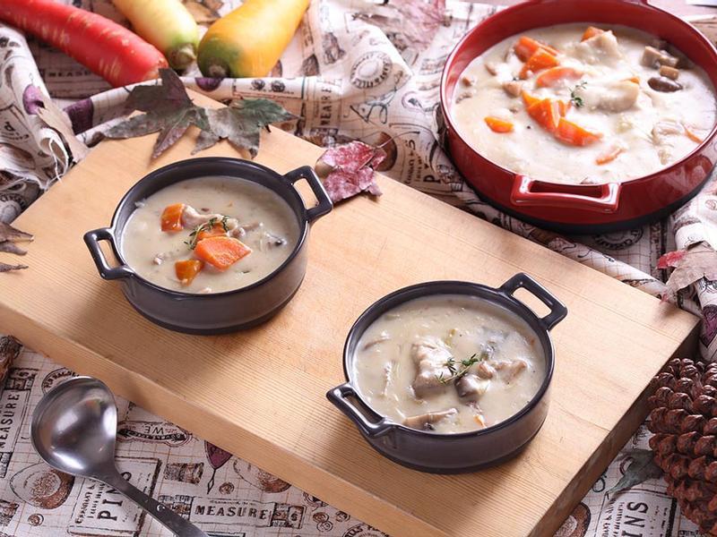 <湯瑪仕幸福食堂>白醬燉霜降活力豬肉