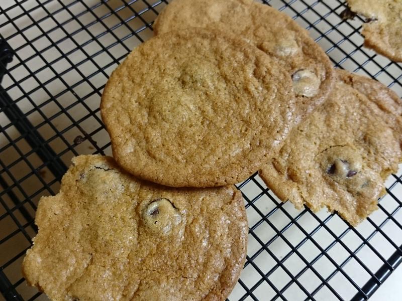美式巧克力豆餅乾 超簡單 月哥交換日記