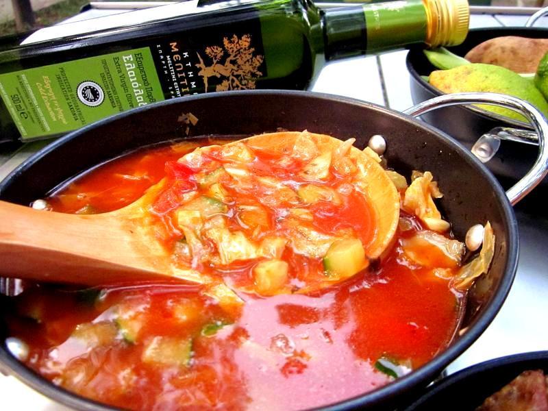 義式蔬菜濃湯【美麗媞妮特級初榨橄欖油】