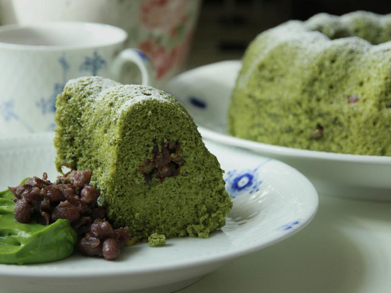 抹茶紅豆天使蛋糕by戀戀家
