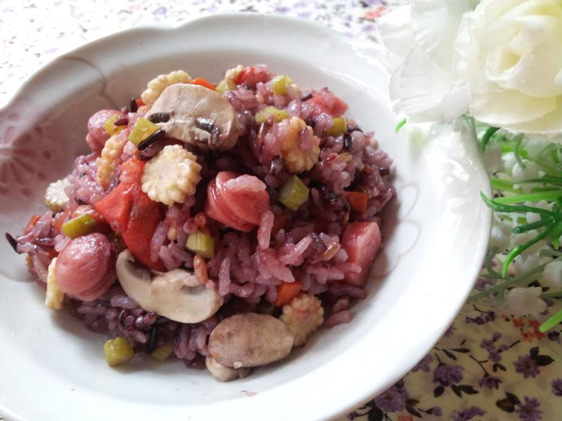 網路名料理 ~ 蕃茄鮮蔬飯