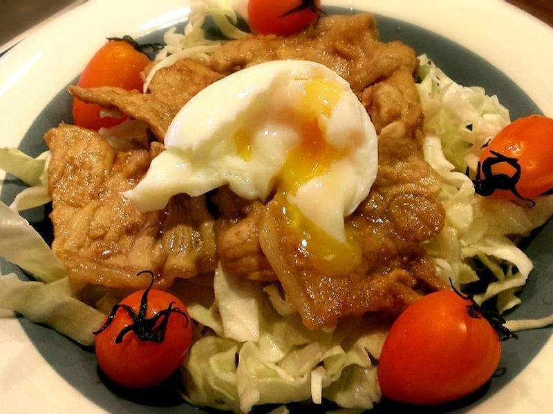 【空姐愛煮菜】暖心料理-醬燒豬肉定食
