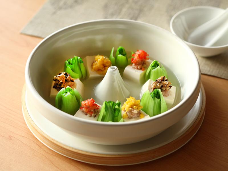 JIA Inc.蒸缽|五彩時蔬鮮肉蒸豆腐
