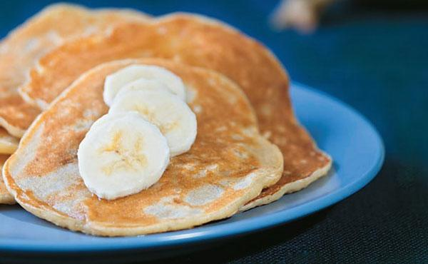 抗失眠食譜:香蕉燕麥煎餅(點心)