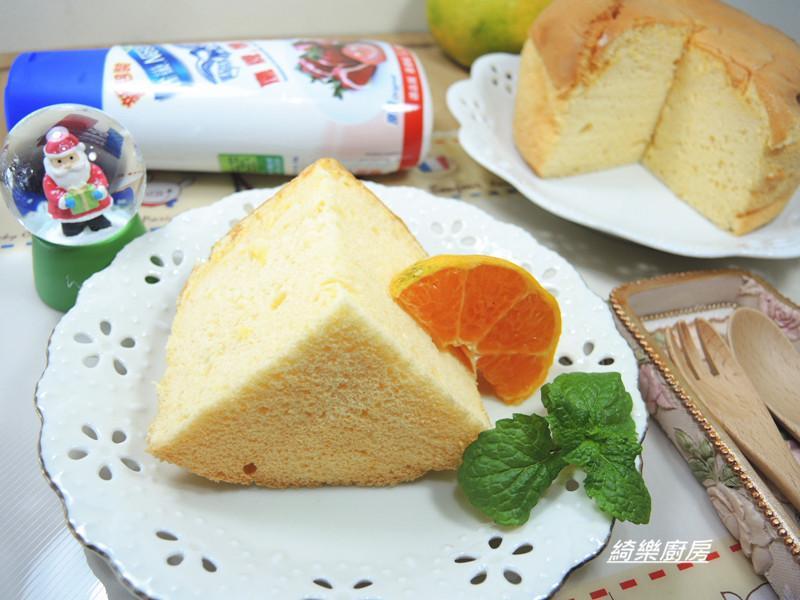 橘子戚風蛋糕✿《鷹牌煉奶》