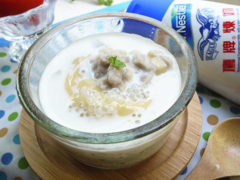 奶香芋頭西米露~鷹牌煉奶