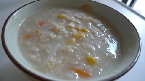 玉米瘦肉燕麥粥