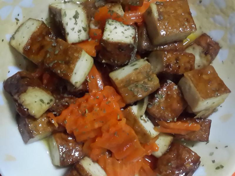 果醬豆乾(柳橙版)