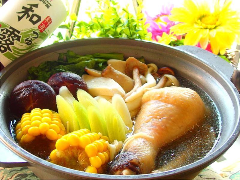 菇菇雞肉鍋