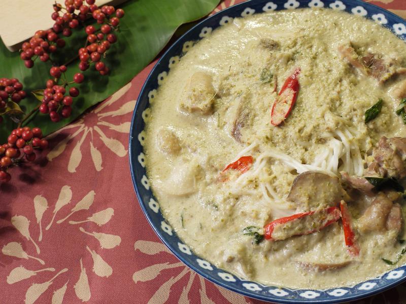 【泰式美味】雞肉綠咖哩