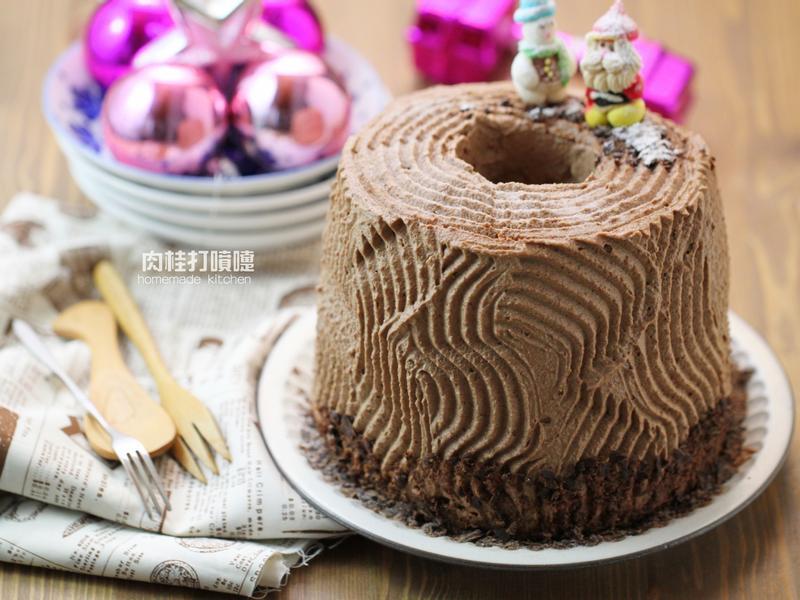 耶誕戚風樹幹蛋糕