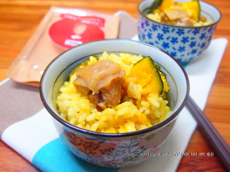 南瓜雞肉燉飯【美國米】