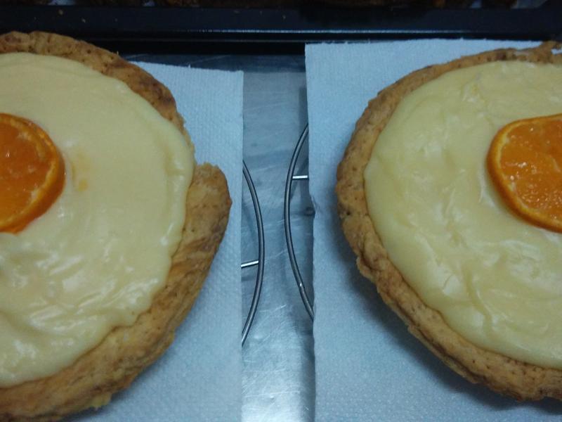 柳橙金秸奶皇脆皮派
