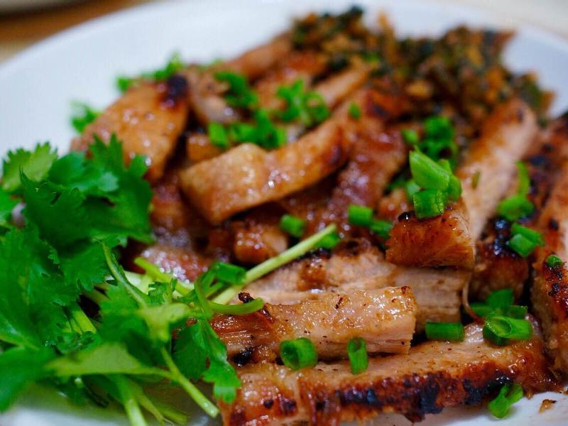 泰式豬頸肉