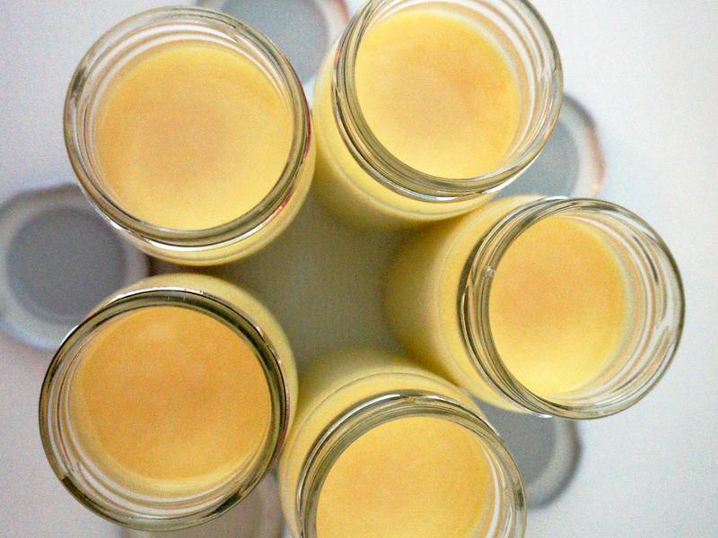 煉乳蒸布丁--『鷹牌煉奶』