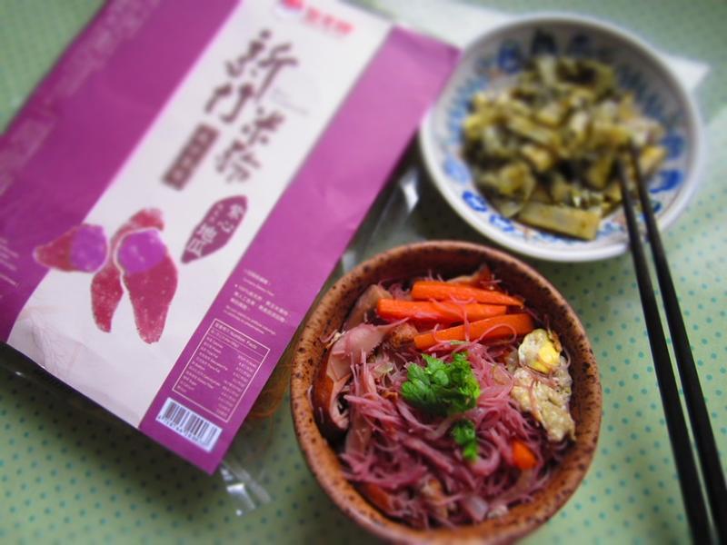 台式什錦炒紫心地瓜米粉