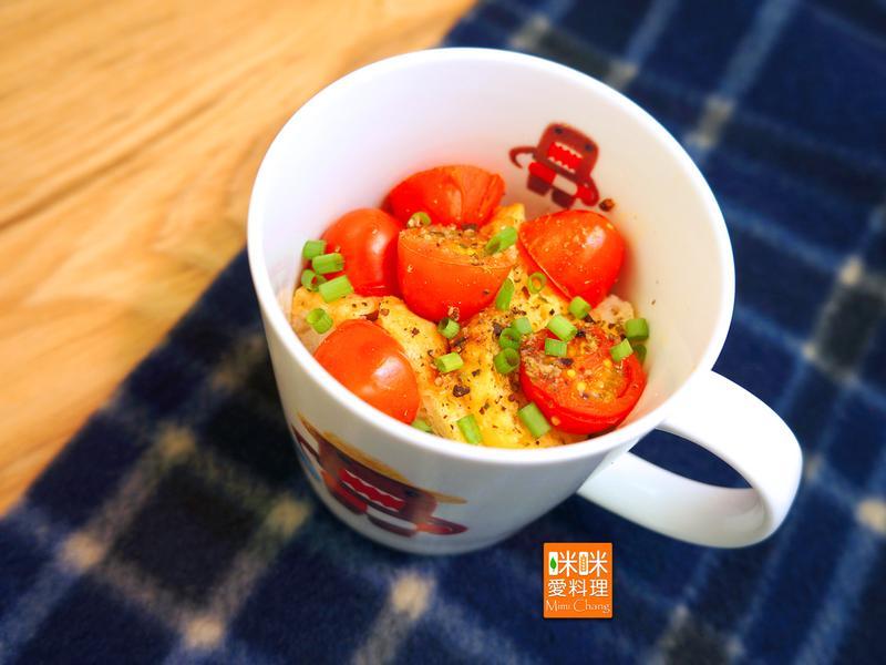 Mimi♥番茄蛋土司【馬克杯料理】