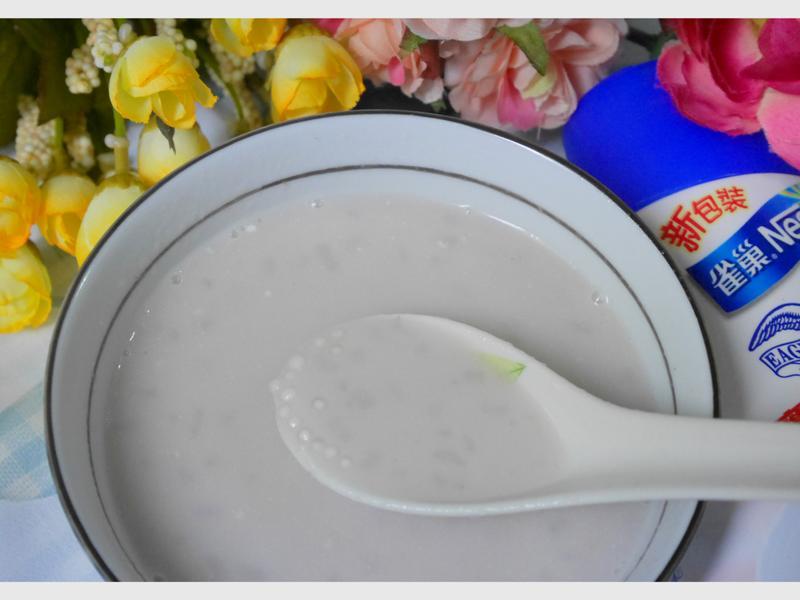 煉奶芋頭西米露『鷹牌煉奶』