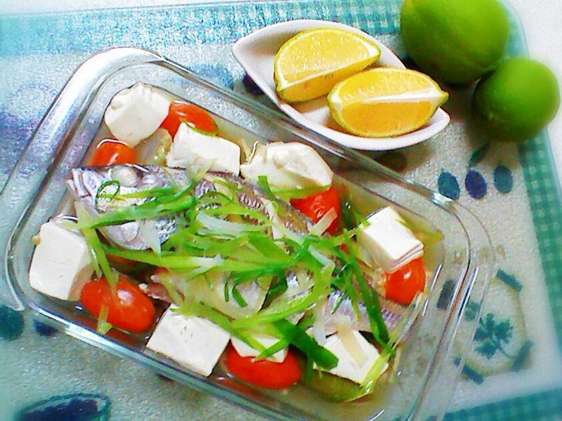 無鹽無油料理 - 檸檬蒸魚