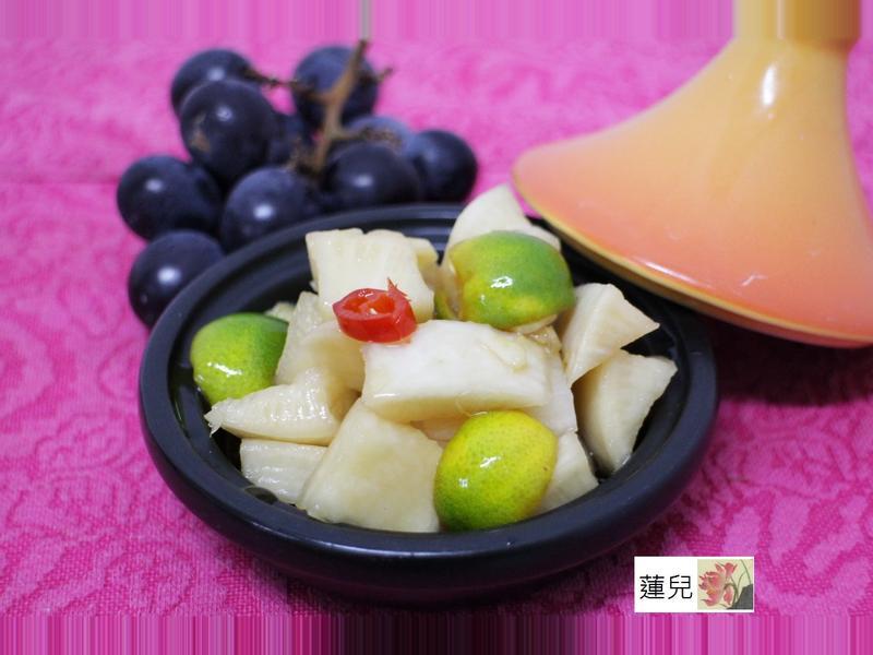 水果醋漬蘿蔔皮