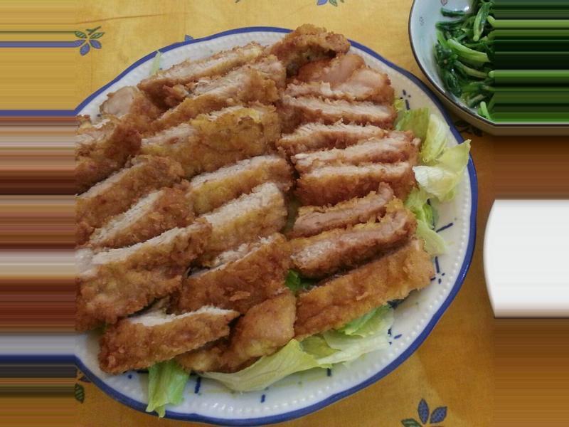 【動手作料理】香酥嫩炸豬排