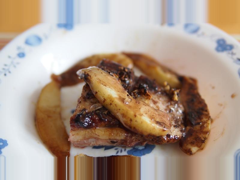 西南法料理─超簡單鴨胸佐巴薩米可醋西洋梨