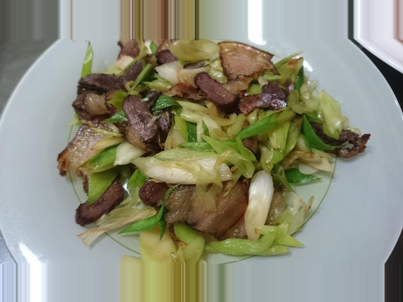 [綜合]蒜苗臘肉