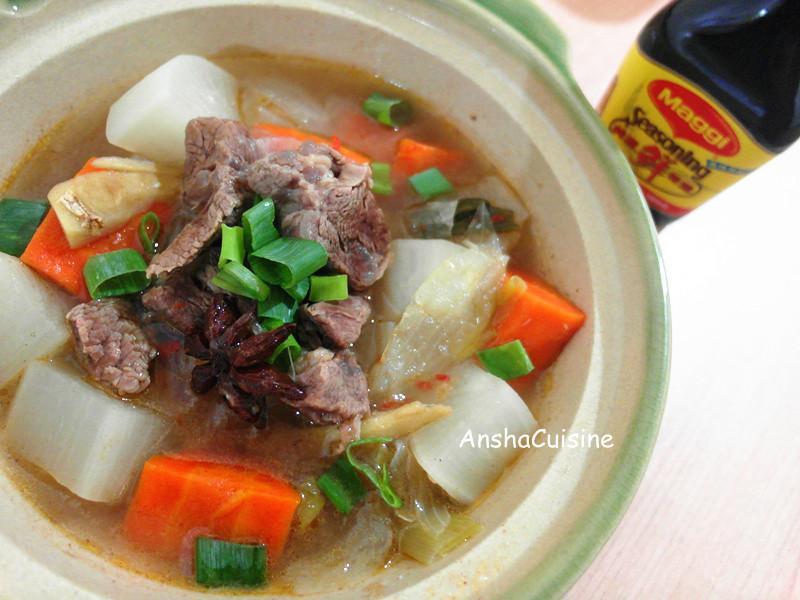 紅燒牛肉燉湯【味道福爾摩莎】