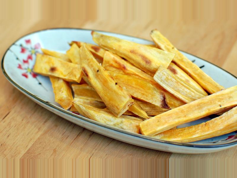 白糖黃金地瓜薯條 - 越吃越涮嘴
