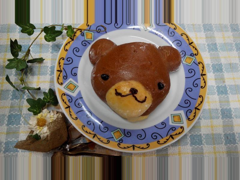 巧克力熊熊麵包-パンの鍋(胖鍋)製麵包機