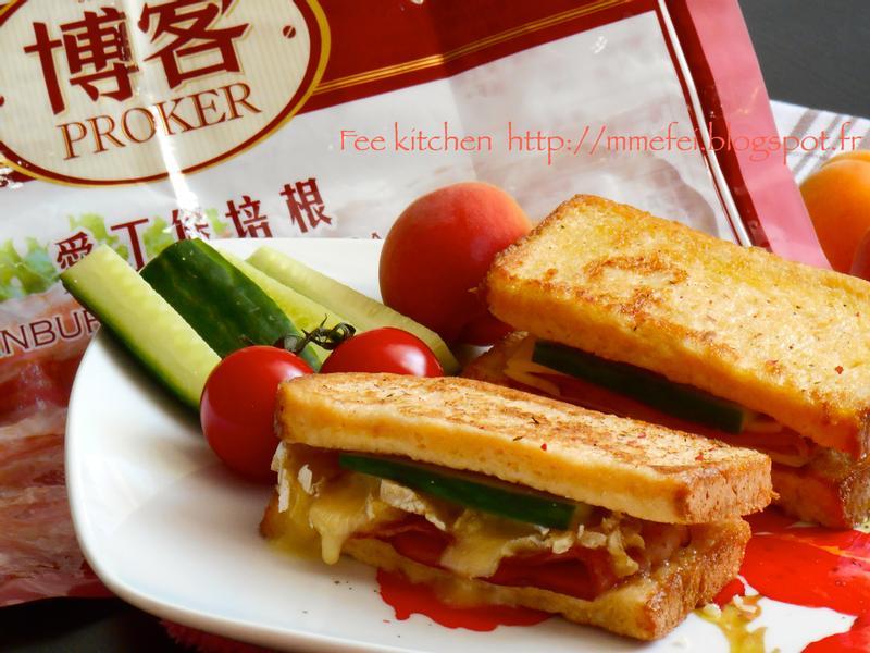 法式土司乳酪培根【博客培根】