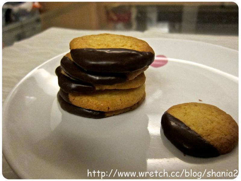 用鬆餅粉做巧克力餅乾