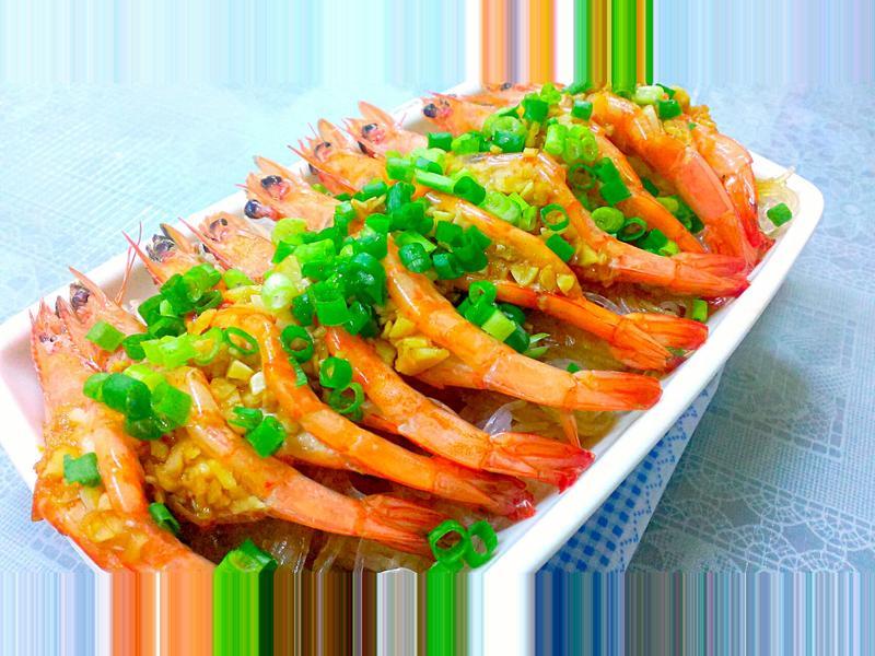 十分鐘輕鬆上桌蒜茸蒸蝦料理