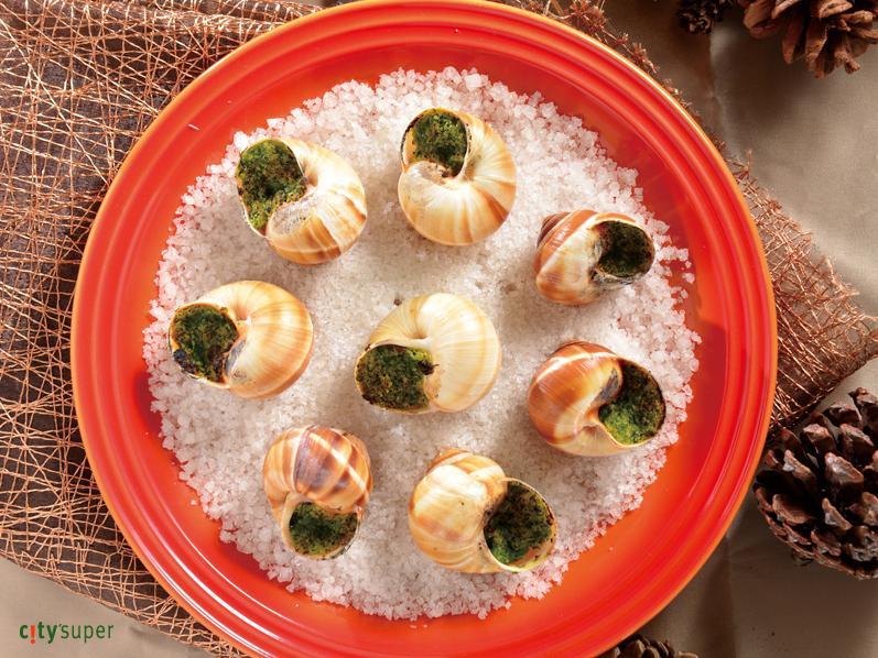 【歐洲聖誕饗宴】勃根地風味烤田螺