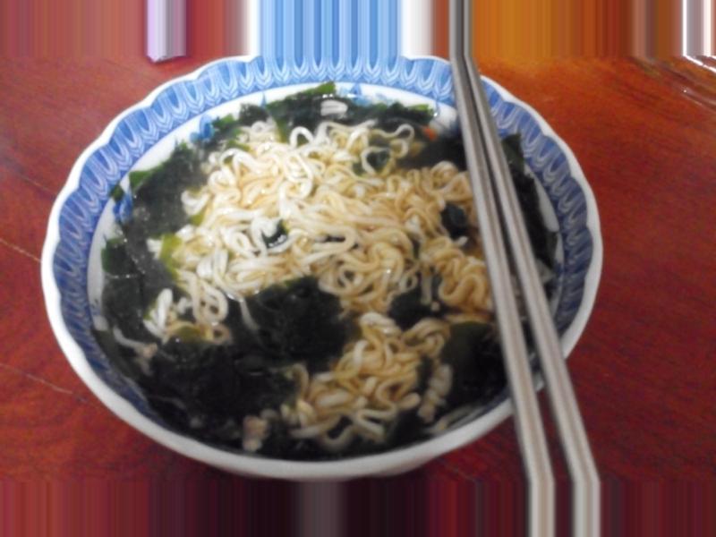 超簡單海鮮泡麵(科學麵版)