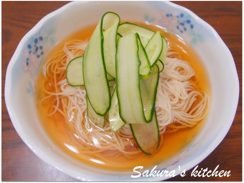♥我的手作料理♥柴魚黃瓜冷麵【飲食革命】