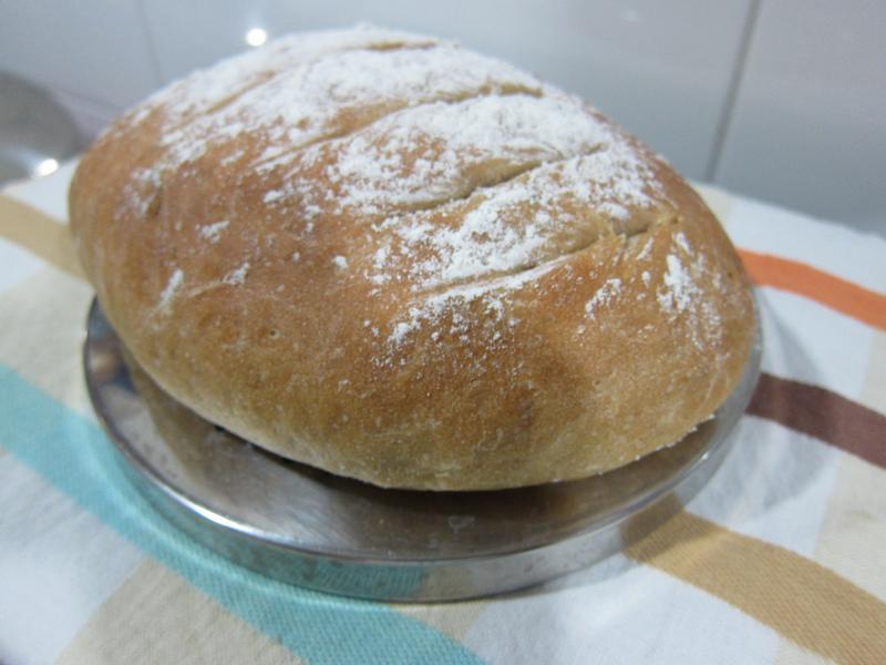 免揉~手工健康核桃麵包【烘焙展食譜募集】