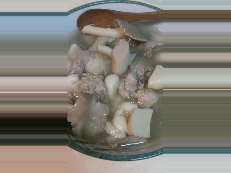 蒜頭雞菇菇湯    家樂福廚神大賽