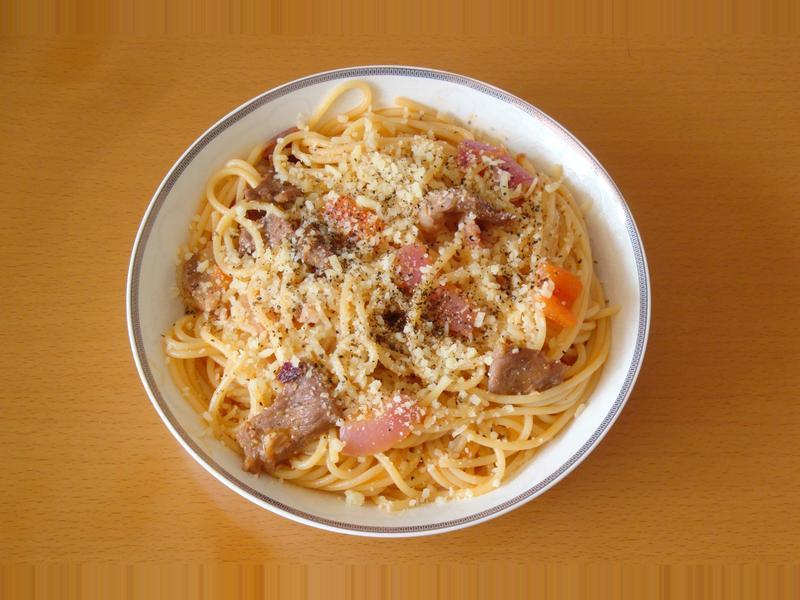<義式>羊肉洋蔥番茄醬麵