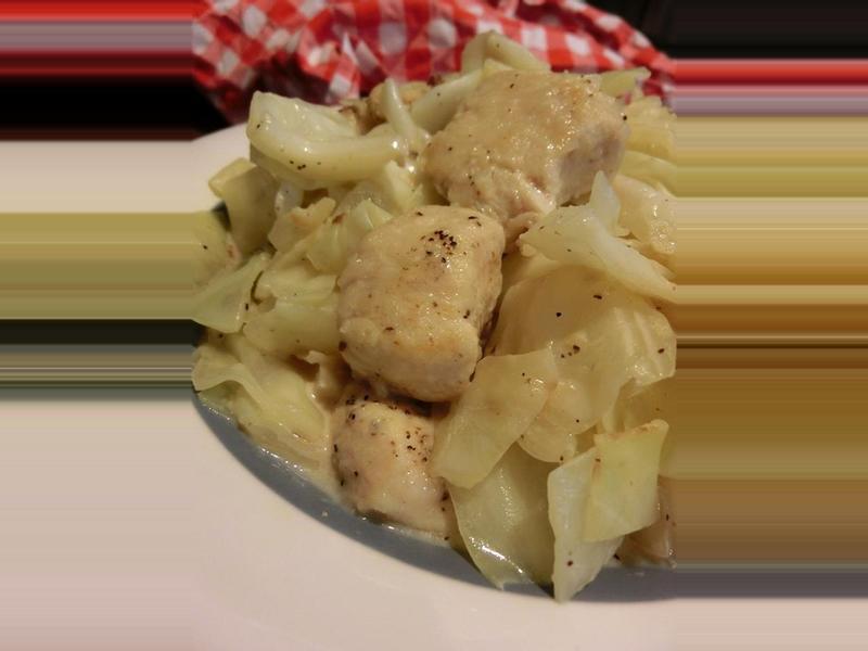 【空姐愛煮菜】日式奶油高麗菜燉雞肉