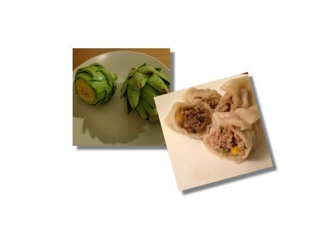 朝鮮薊水餃Artichoke