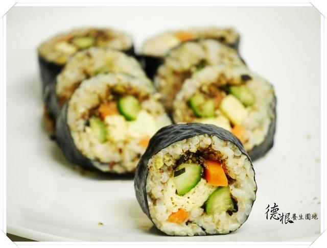 催芽糙米壽司捲