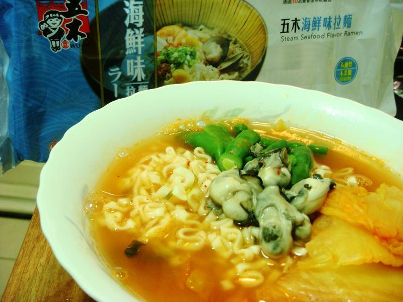 鮮蚵泡菜麵 - 『五木拉麵』